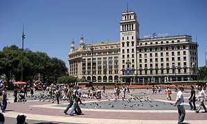 banesto plaza catalunya