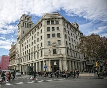 sede banesto barcelona amancio ortega