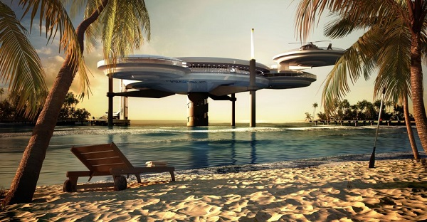 hotel subacuatico