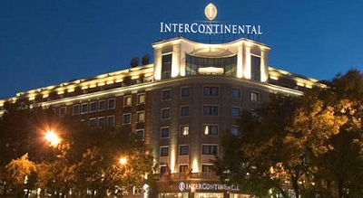 intercontinental hotel madrid